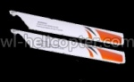 CX-010-parts-09 Lower main blades(2 Stück)-Orange