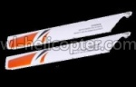CX-010-parts-10 Upper main blades(2 Stück)-Orange