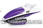 MJX-T41C-helicopter-parts-01 Head cover(Purple)