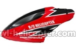 802-helicopter-02 Head cover(Red)