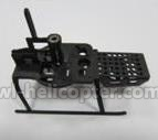 6051-parts-11 Landing skid & body frame