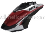 Skytech-M12-Ersatzteile-03 Head cover(Black &Red & White)