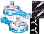 Skytech-M12-Ersatzteile-11 side wing pack(2pcs-Include the 2pcs Side motor and 2pc side blades)-Blue
