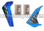 U16-parts-36 Horizontal and verticall wing with fixtures-Blue