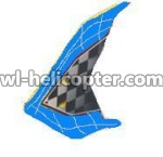 U16-parts-37 Horizontal wing-Blue