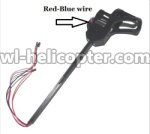 UDI-U817-Ersatzteile-08 Whole Leg unit set B (Red and Blue wire)