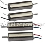 U829X-parts-14 UDI-U830-parts-14 Main motor with black and white wire(2 Stück) & Main motor with red and blue wire(2 Stück)