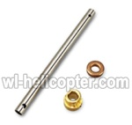Wltoys V262 Ersatzteile-07 Main pipe &   Copper sleeve for Gear & Copper sleeve for the main pipe