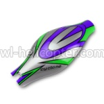 Wl toys V333 Ersatzteile-01 Head cover(Green&Purple&Gray)