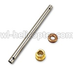 Wltoys V333 Ersatzteile-07 Main pipe &   Copper sleeve for Gear & Copper sleeve for the main pipe