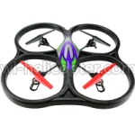 Wltoys V333 Ersatzteile-25 V262 Quadcopter BNF(Only Quadcopter Body ,No battery ,No transmitter,No charger)-Green&Purple