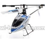 WL V911-53 Single helicopter(No battery,No remote control)-Blue