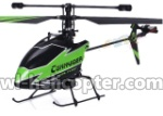 WL V911-55 Single helicopter(No battery,No remote control)-Green