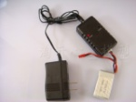 WL-V912-helicopter-11 Charger & Balance charger & Battery-(Total-3 Stück)